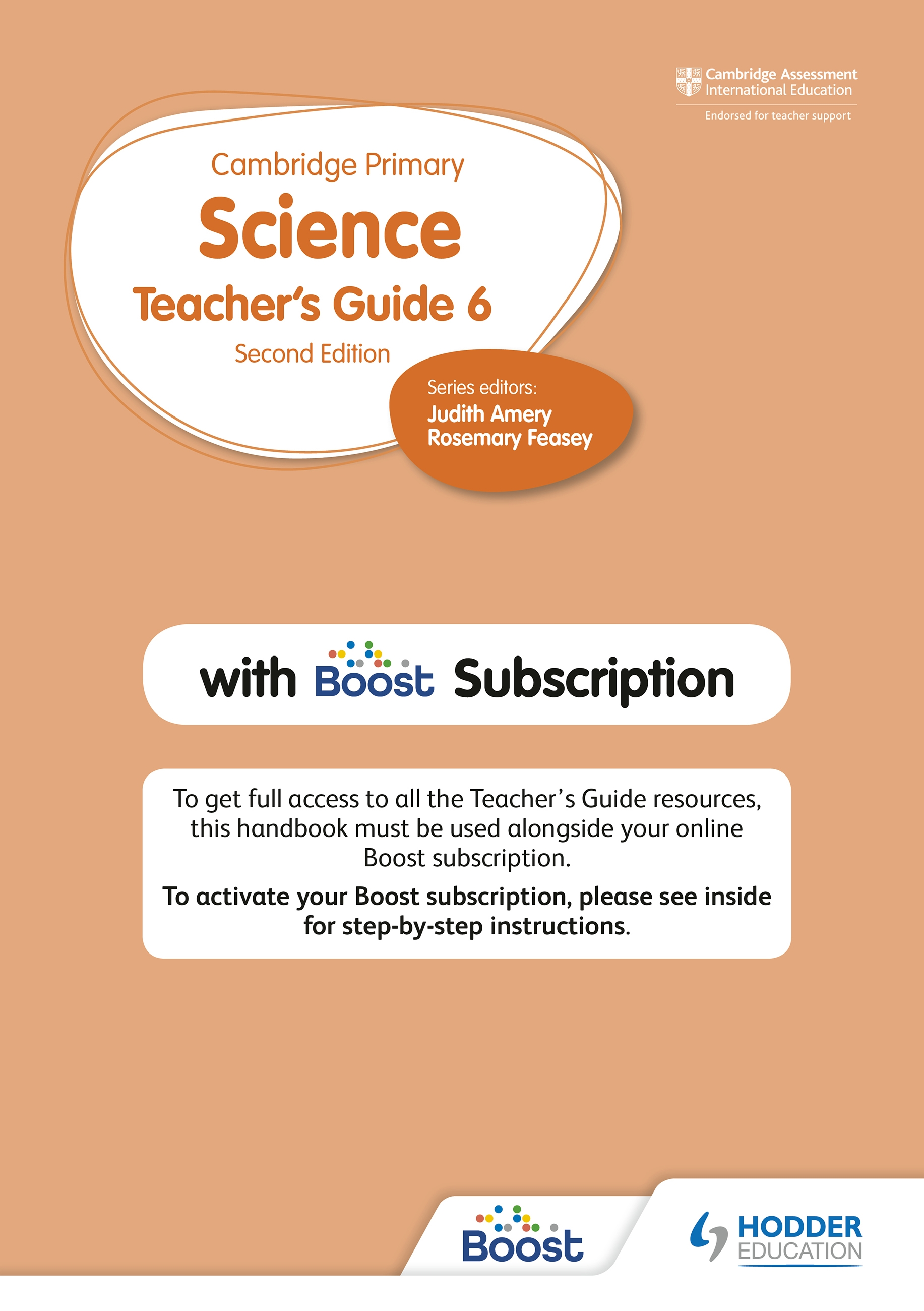 Cambridge Primary Science Teacher's Guide 6 with Boost Subscription
