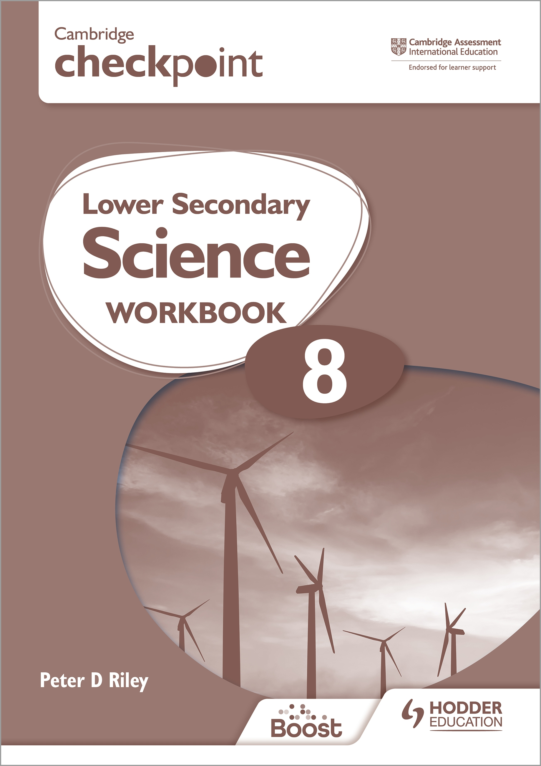 Cambridge Checkpoint Lower Secondary Science Workbook 8 : Second Edition
