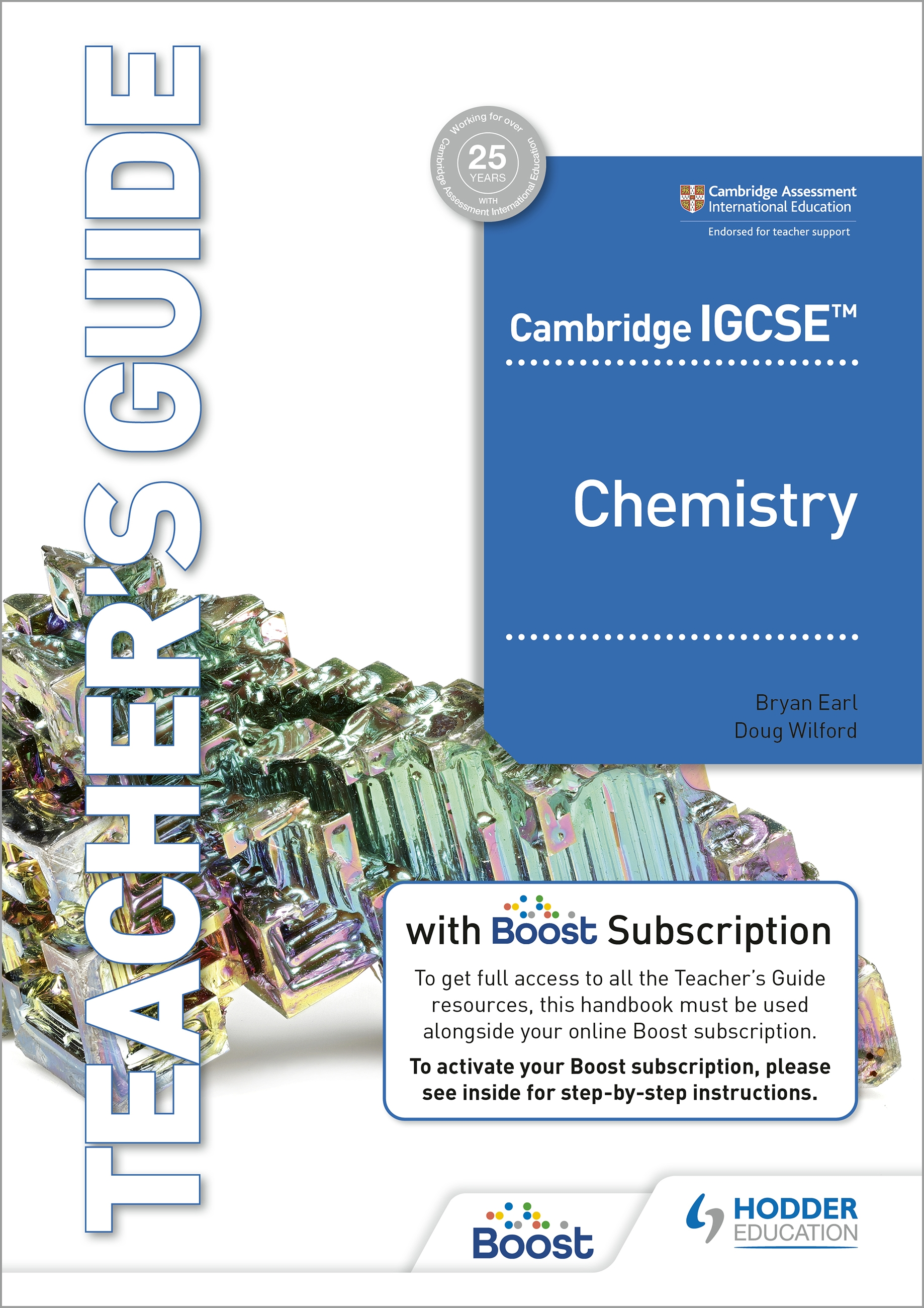 Cambridge IGCSE (TM) Chemistry Teacher's Guide with Boost Subscription Booklet