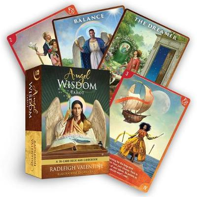 Picture of Angel Wisdom Tarot : A 78-Card Deck and Guidebook