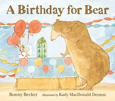 Picture of A Birthday for Bear