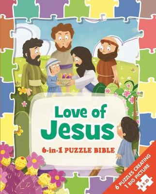 Picture of 6 in 1 puzzle Bible: Love of Jesus