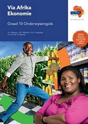 Picture of Via Afrika ekonomie: Gr 10: Onderwysersgids