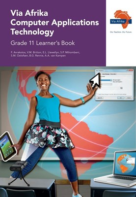 Picture of Via Afrika computer applications technology: Gr 11: Learner's book