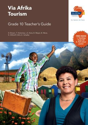 Picture of Via Afrika tourism: Gr 10: Teacher's guide