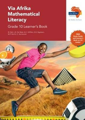 Picture of Via Afrika mathematical literacy: Gr 10: Learner's book