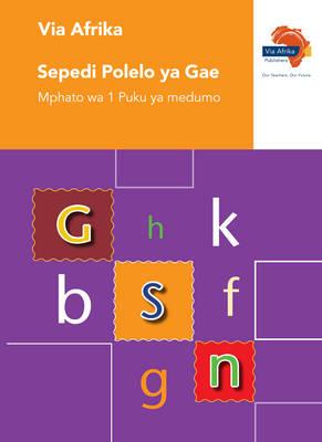 Via Afrika Sepedi polelo ya gae: Gr 1: Workbook : Home language
