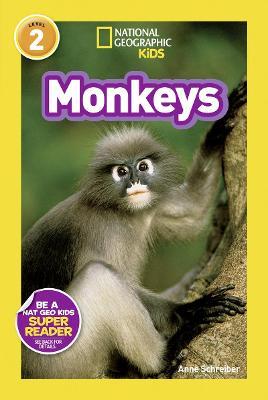 National Geographic Kids Readers: Monkeys