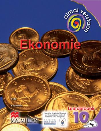 Picture of Almal verstaan ekonomie: Gr 10: Leerdersboek : VOO-fase