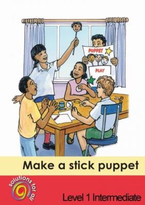 Picture of Make a stick puppet: Gr 1: Graded reader : Home language