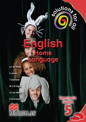 Picture of Solutions for All English: Solutions for all English: Gr 5: Teacher's guide Gr 5: Teacher's Guide