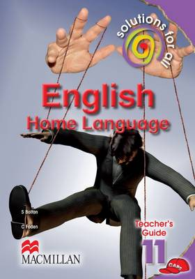 Picture of Solutions for all English: Gr 11: Teacher's guide : Home language