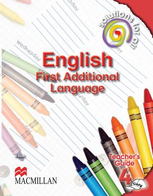 Picture of Solutions for all English: Gr 4: Teacher's guide : First additional language