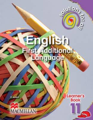Picture of Solutions for All English: Solutions for all English: Gr 11: Learner's book Gr 11: Learner's Book