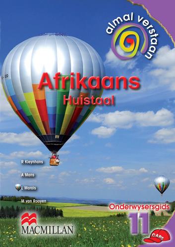 Picture of Almal verstaan Afrikaans: Gr 11: Teacher's guide : Huistaal