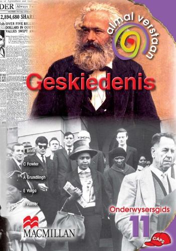 Picture of Almal verstaan geskiedenis: Gr 11: Teacher's guide
