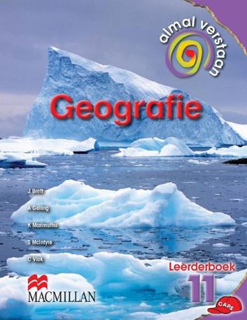 Picture of Almal Verstaan Geografie: Almal verstaan geografie: Gr 11: Learner's book Gr 11: Learner's Book