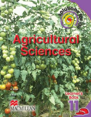 Picture of Solutions for all agricultural sciences: Gr 11: Learner's book