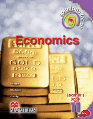 Picture of Solutions For All economics: Grade 11: Learner's book