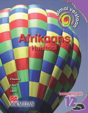 Picture of Almal verstaan Afrikaans : Gr 12: Leerdersboek : Huistaal