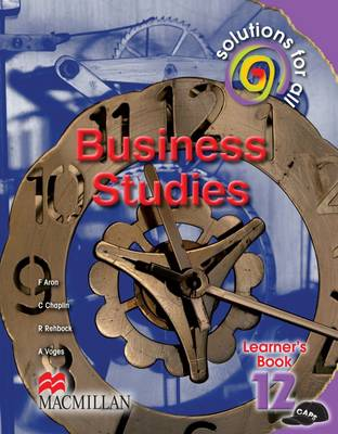 Picture of Solutions for all business studies : Gr 12: Learner's book