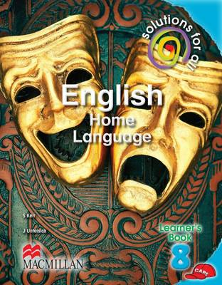 Picture of Solutions for all English: Gr 8: Learner's book : Home language