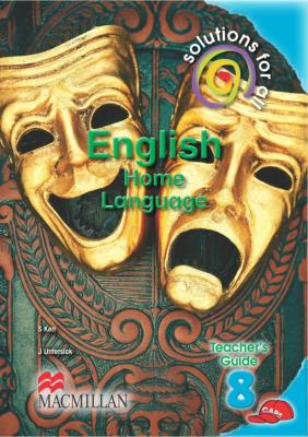 Picture of Solutions for all English : Gr 8: Teacher's guide : Home language
