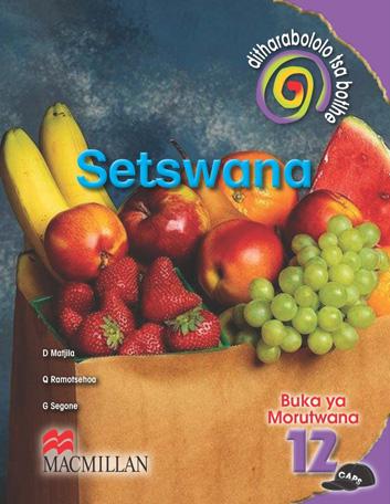 Picture of Ditharabololo Tsa Botlhe Setswana: Mophato 12: Buka Ya Moithuti