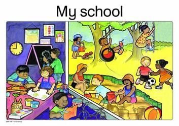 My school: Grade R: Poster