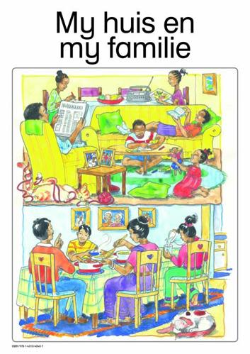 My huis en my familie: Graad R: Plakkate