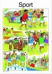 Sport: Graad R: Plakkate