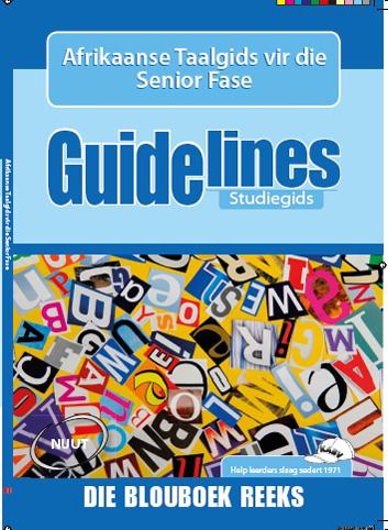 Picture of Guidelines Afrikaanse taalgids: Graad 7-9: Studiegids