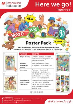 Picture of Here We Go Poster Pack : Grade R