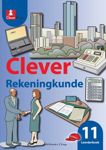 Picture of Clever rekeningkunde: Gr 11: Learner's book
