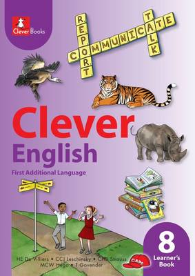 Picture of Clever English: Gr 8: Learner's book : First additional language