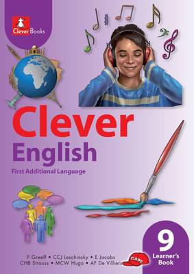 Picture of Clever English: Gr 9: Learner's book : First additional language