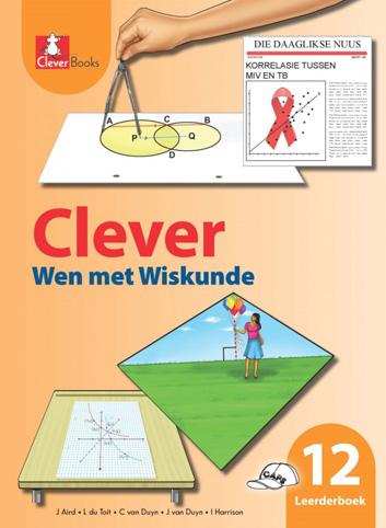 Picture of Clever wen met wiskunde : Gr 12: Leerdersboek