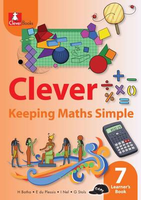 Picture of Clever keeping maths simple: Gr 7: Learner's book