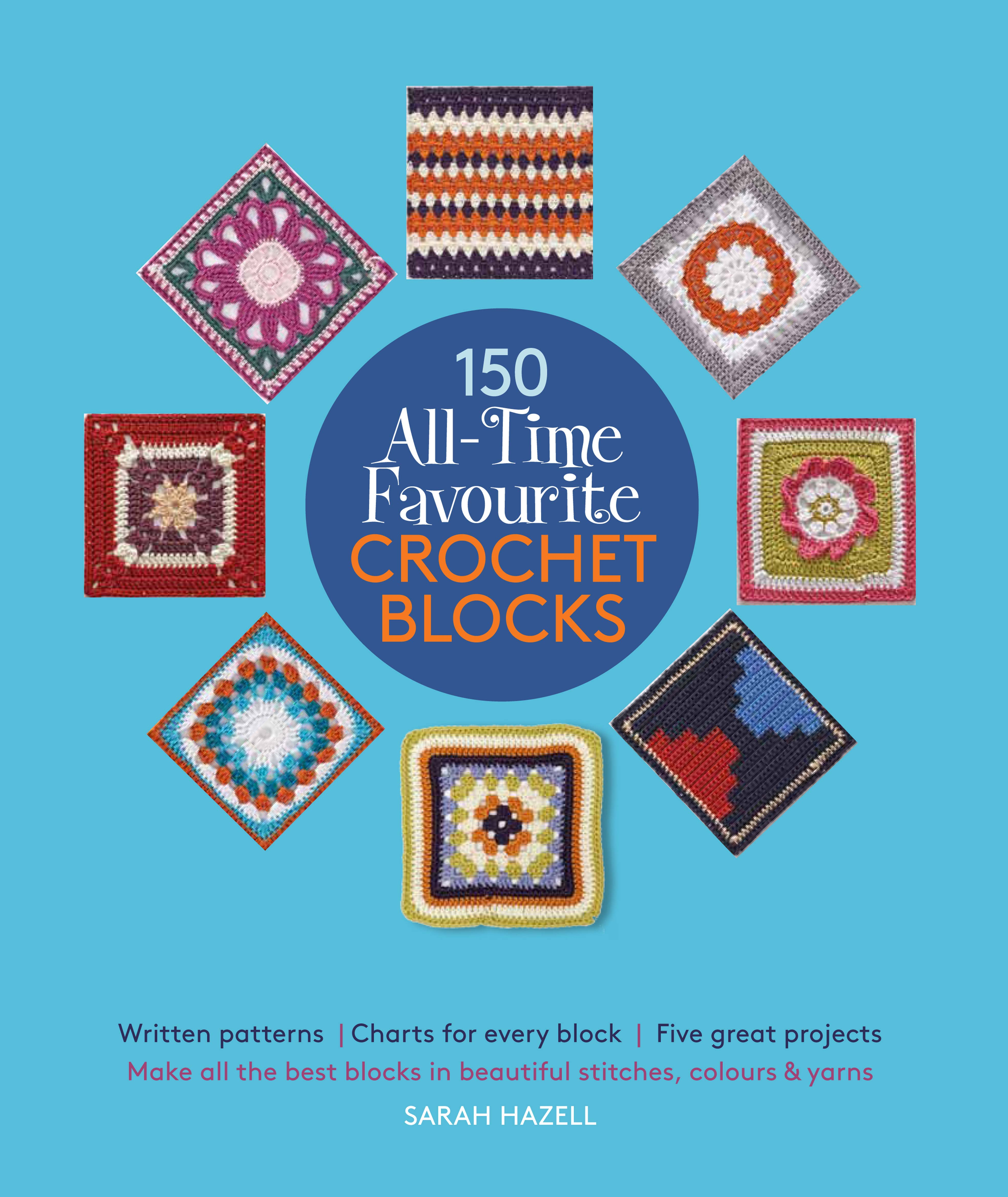Picture of 150 All-time favourite crochet blocks