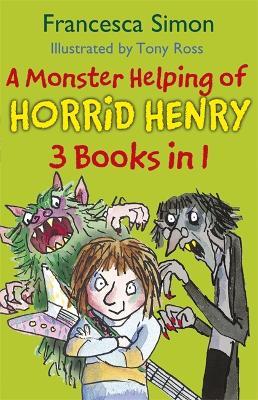 Picture of A Monster Helping of Horrid Henry 3-in-1: Horrid Henry Rocks/Zombie Vampire/Monster Movie