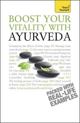 Picture of Boost Your Vitality With Ayurveda: Teach Yourself