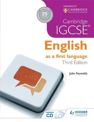 Picture of Cambridge IGCSE English First Language 3ed + CD