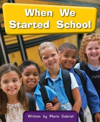 6a When We Started School : Springboard Connect