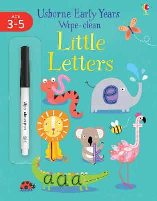 Picture of Early Years Wipe Clean Little Letters 4-5
