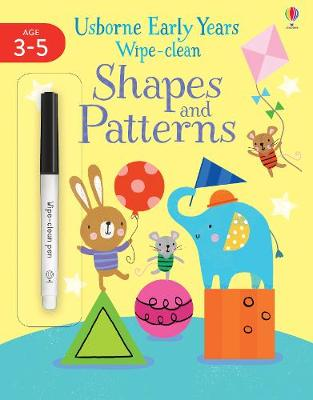 Picture of Early Years Wipe-Clean Shapes & Patterns 3-4