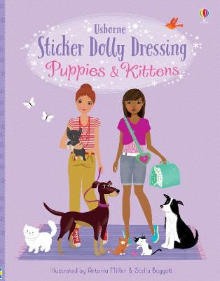 Picture of Sticker Dolly Dressing Puppies and Kittens