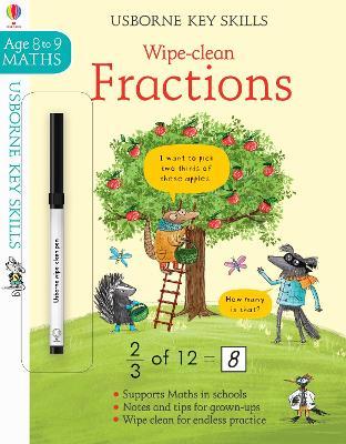 Wipe-clean Fractions 8-9