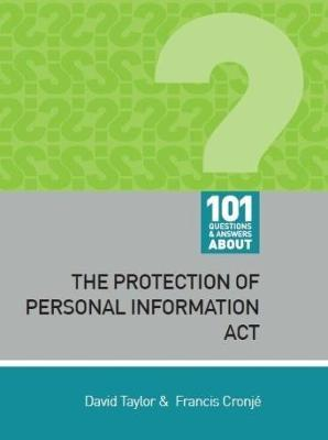Picture of 101 questions and answers about: The Protection of Personal Information Act