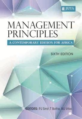 Picture of Management principles - A contemporary edition for Africa