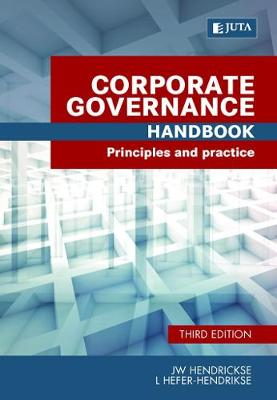 Picture of Corporate governance handbook : Principles and practice